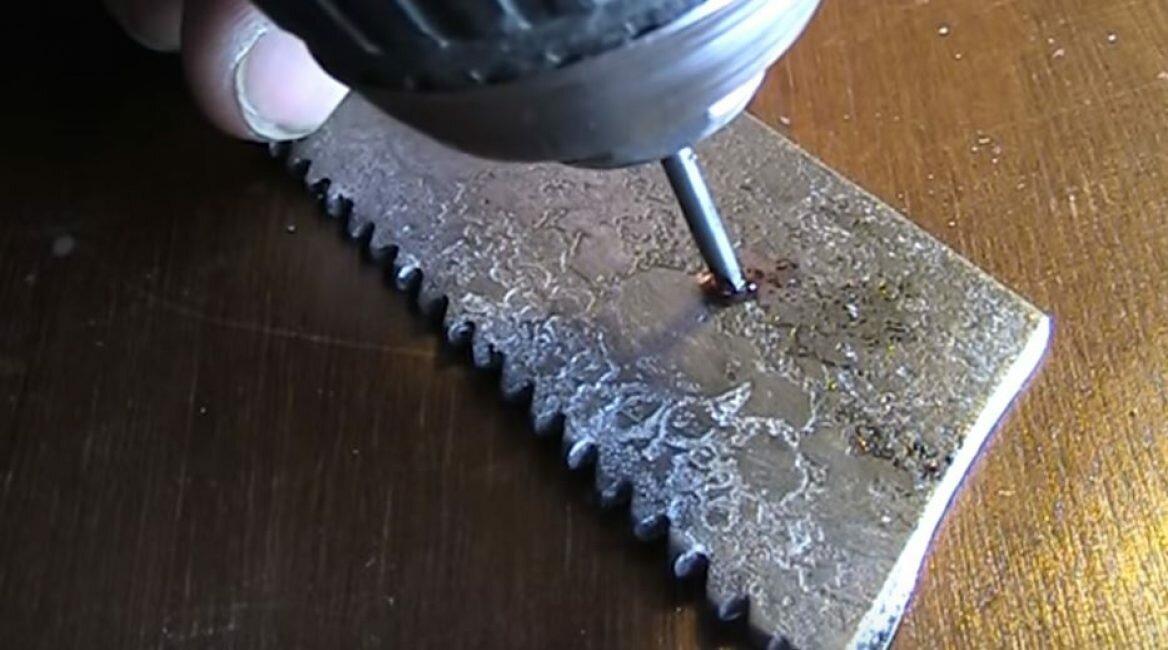 Как просверлить отверстие в каленом металле - о металле
