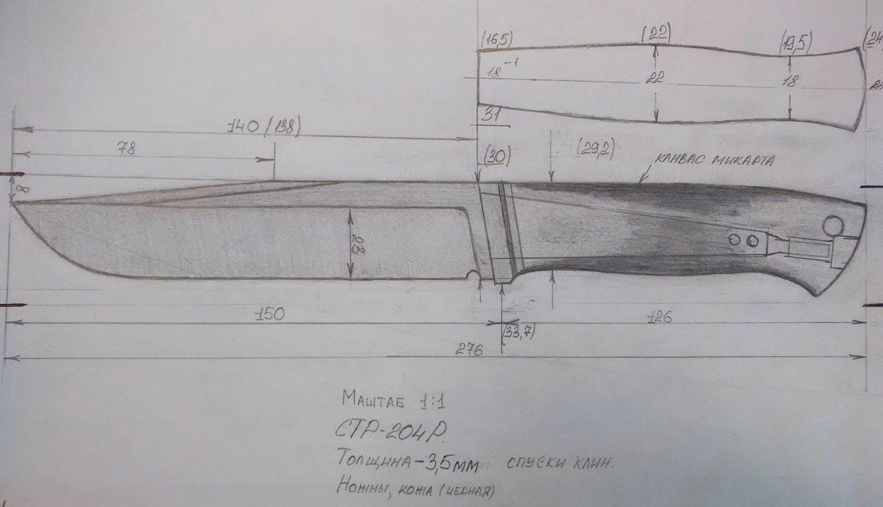 Складной нож своими руками, подробная пошаговая инструкция