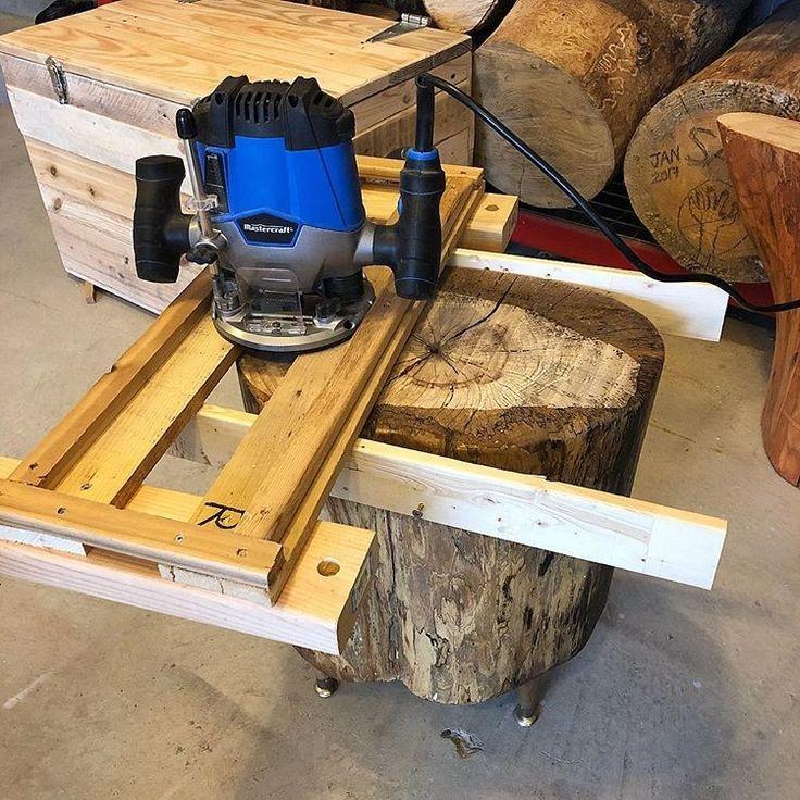 Сам себе мебельная фабрика: ручной фрезер по дереву