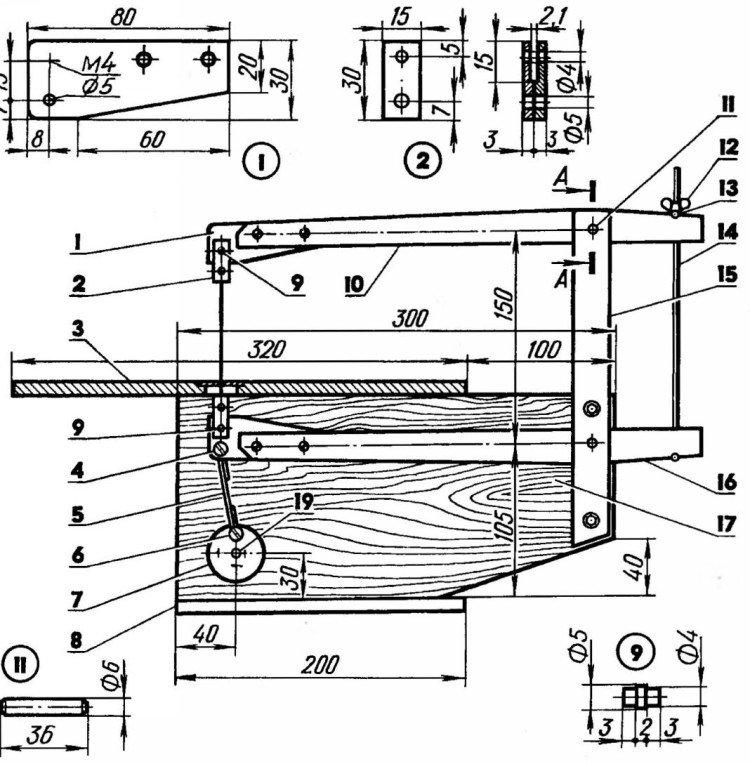 Инструкция: Как сделать лобзиковый станок своими руками из электролобзика?