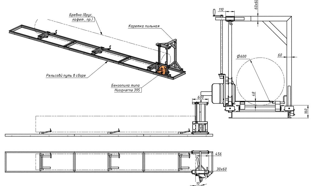 Изготовление самодельных дисковых пилорам: устройство, инструкция и видео