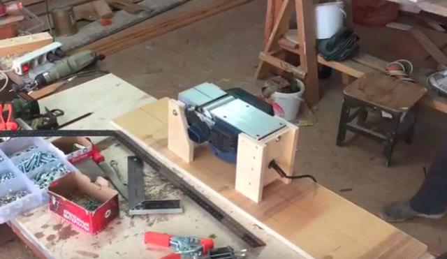 Электрорубанок своими руками из болгарки - moy-instrument.ru - обзор инструмента и техники