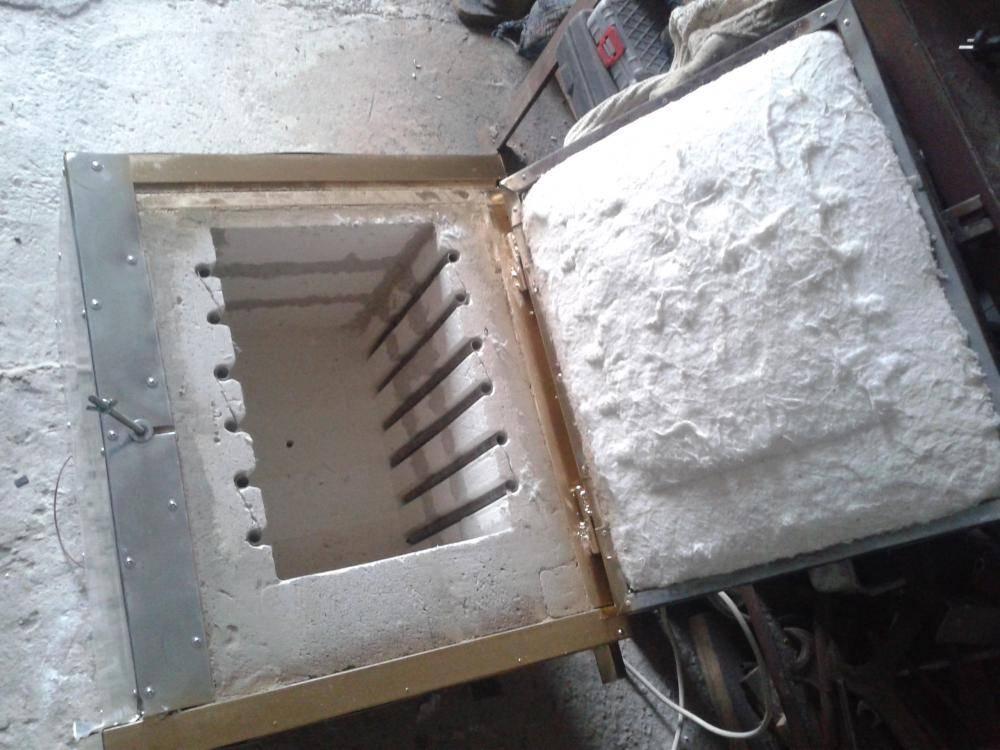 Муфельная печь для обжига керамики своими руками: способ изготовления, схема, фото