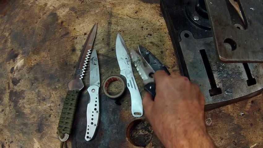 Ножи - всё о ножах: сталь для ножей | как закалить сталь для ножа