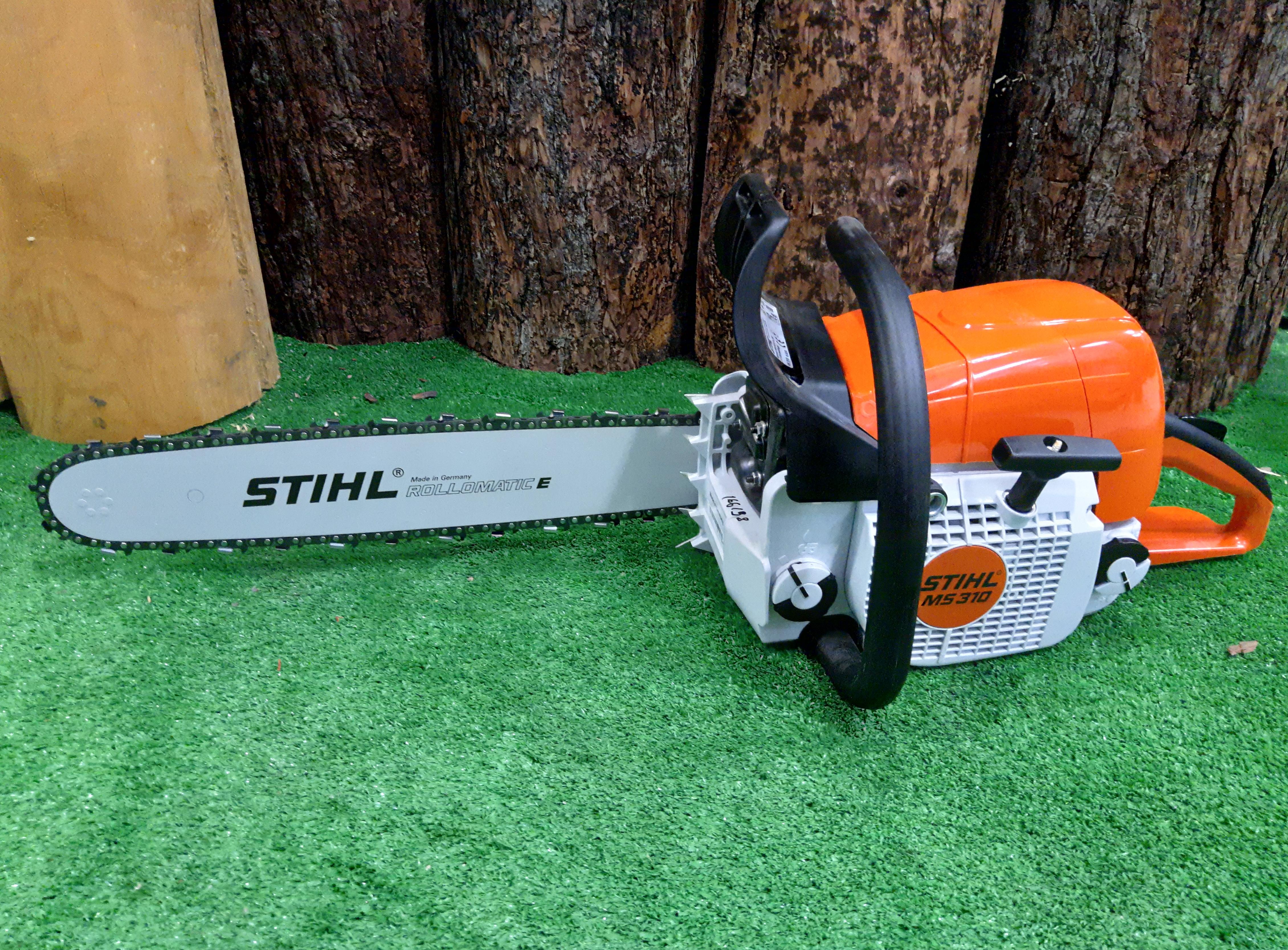 Бензопилы stihl - обзор моделей. правила безопасности и техника применения инструмента