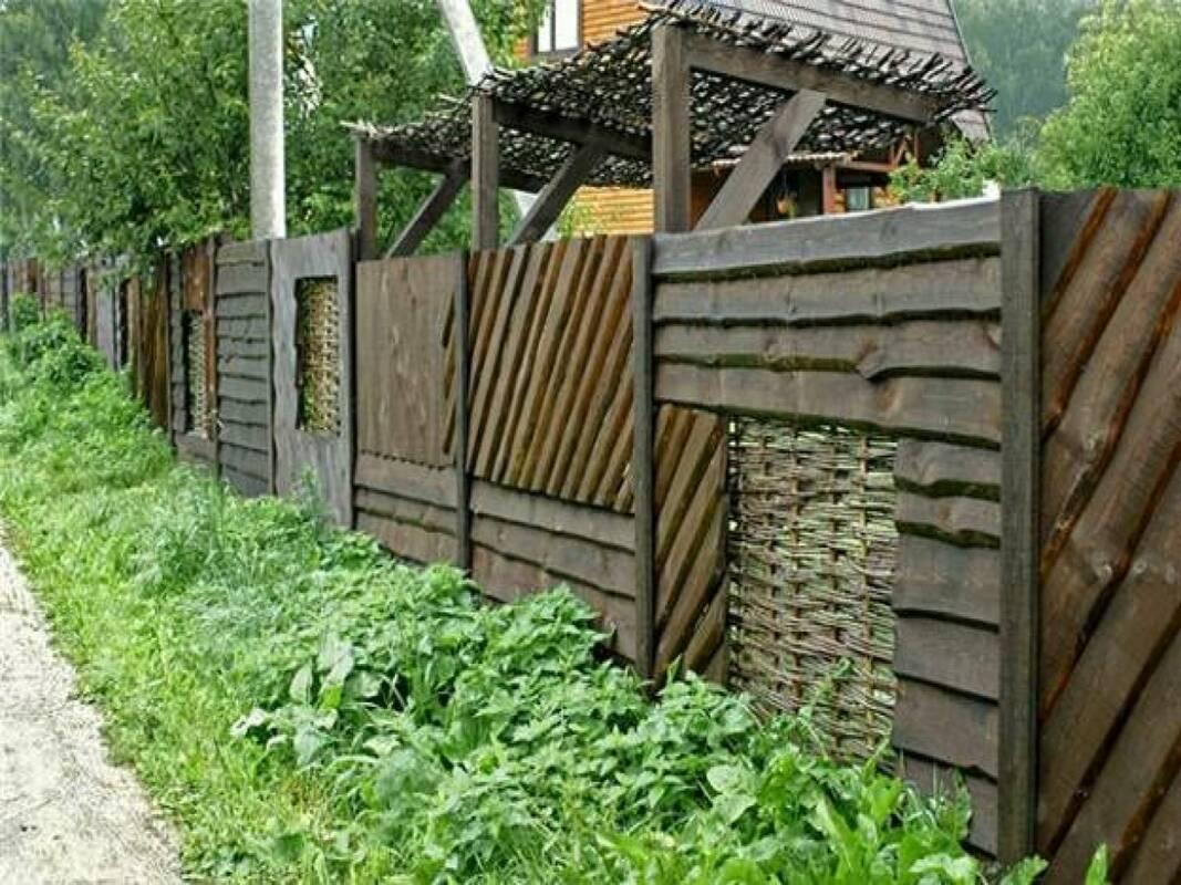 Забор из горбыля своими руками - самстрой - строительство, дизайн, архитектура.