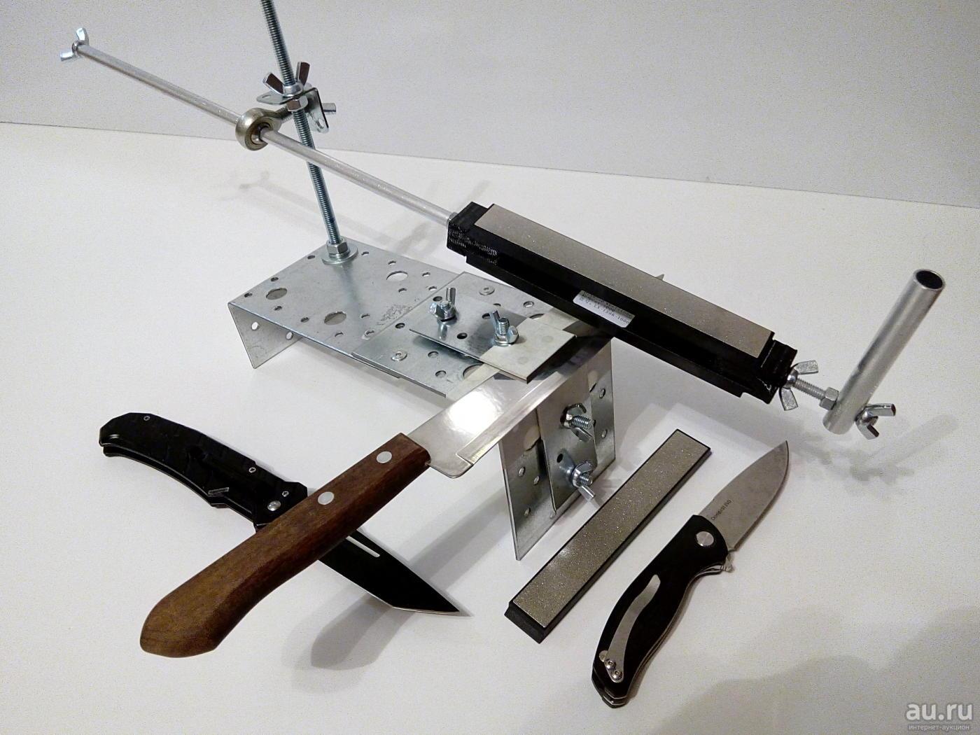 Профессиональная заточка ножей, необходимые материалы и инструменты