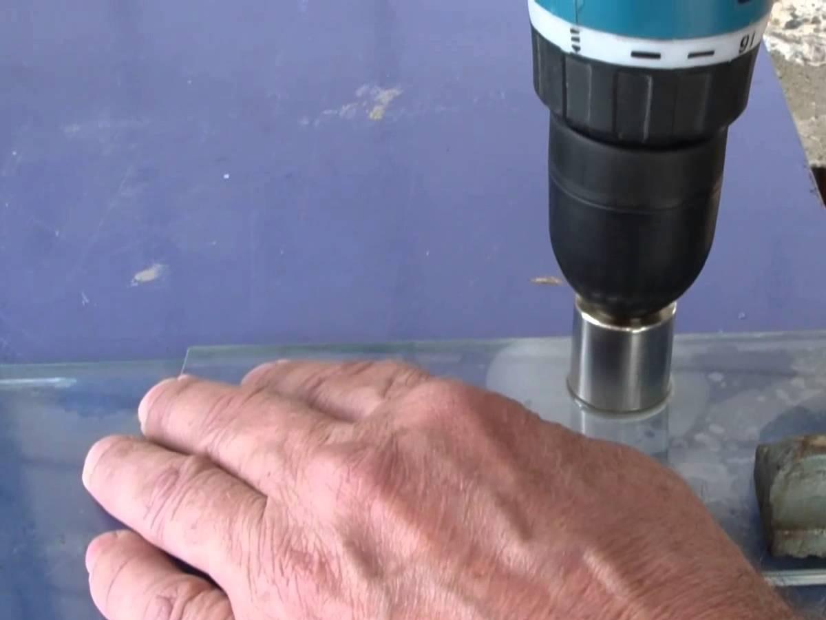 Как сверлить каленое стекло - moy-instrument.ru - обзор инструмента и техники
