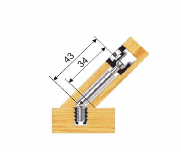 Эксцентриковая стяжка мебельная