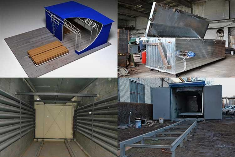 Использование сушильной камеры для древесины