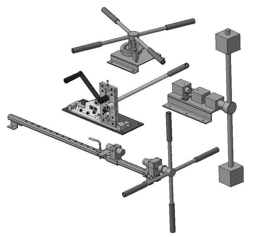 Ручные станки для ручной холодной ковки металла