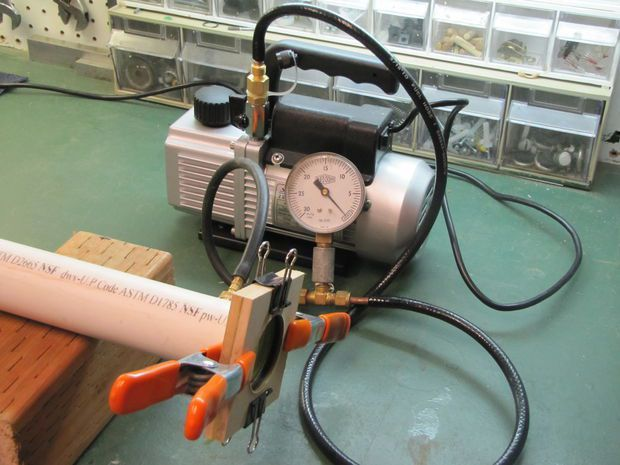 Как сделать вакуумный насос для откачки канализации своими руками чертежи