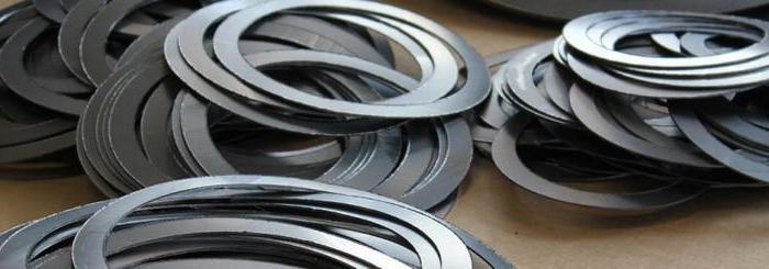 Резиновые уплотнительные кольца и манжеты для труб