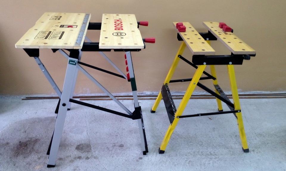 Складной верстак своими руками: чертежи и размеры, делаем универсальный раскладной стол из профильной трубы для дома