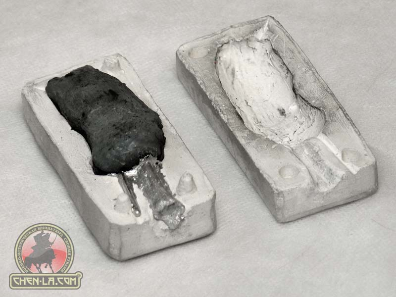 Как отливать олово? - отливка олова примером оловяного солдатика