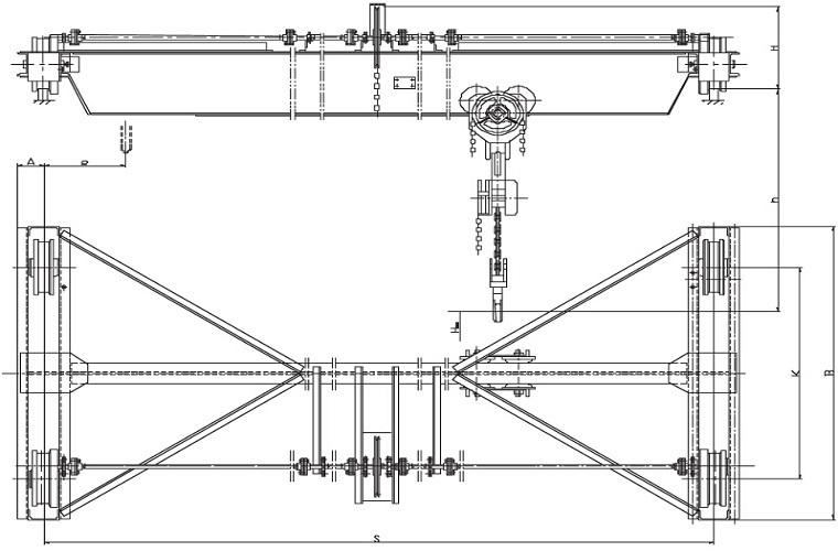Крюковые подвески для подъемных кранов