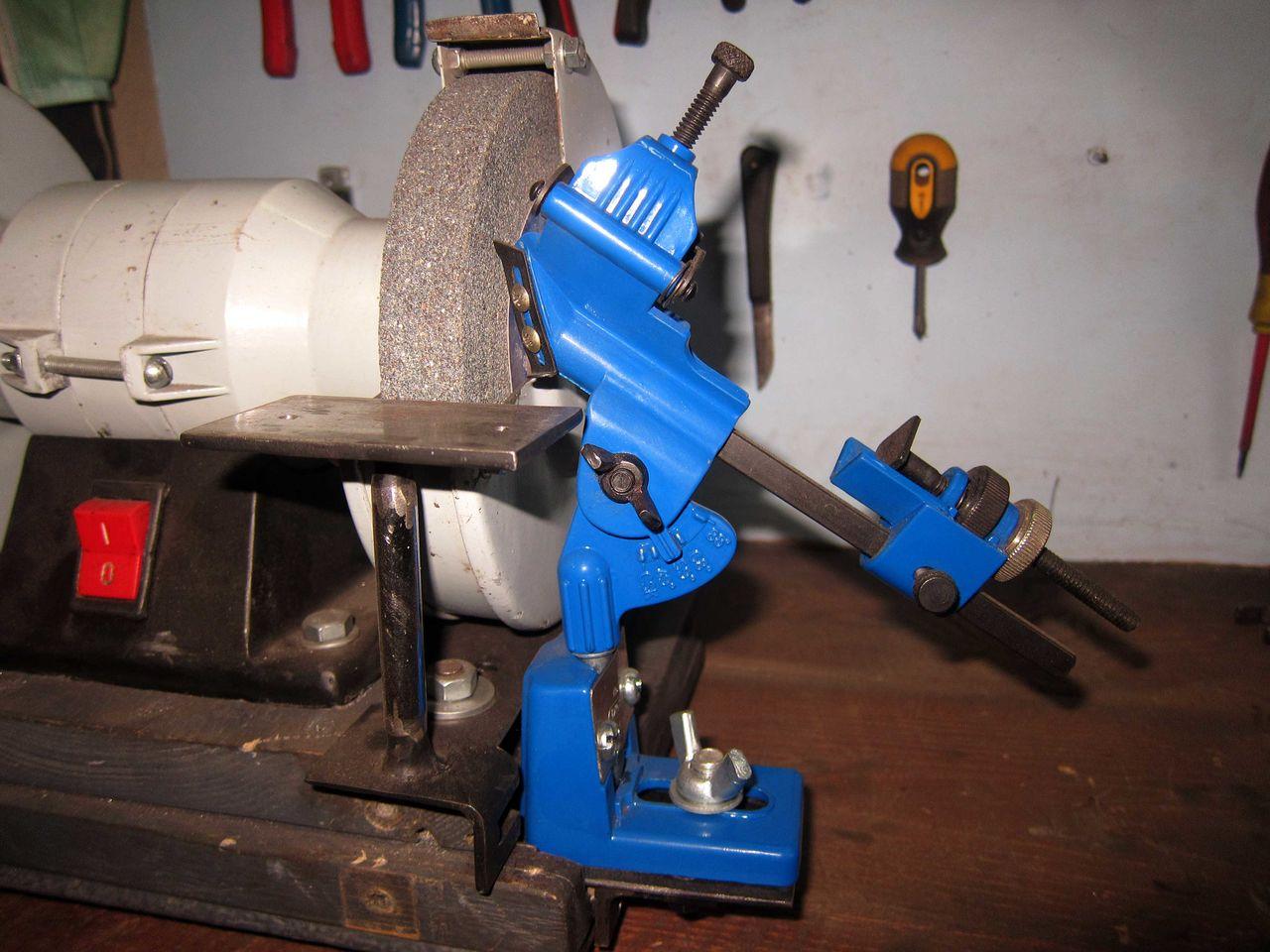 Как выполнить заточку свёрл: заточной станок для свёрл своими руками