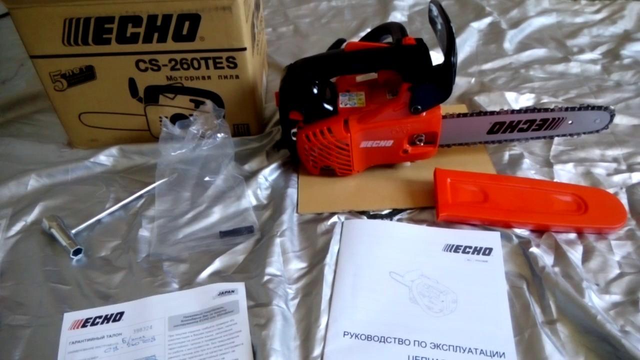 Бензопила echo cs-350wes/tes — удачная модель японского бренда