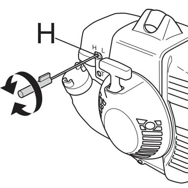 Бензопилы husqvarna 137 — устройство, регулировка карбюратора