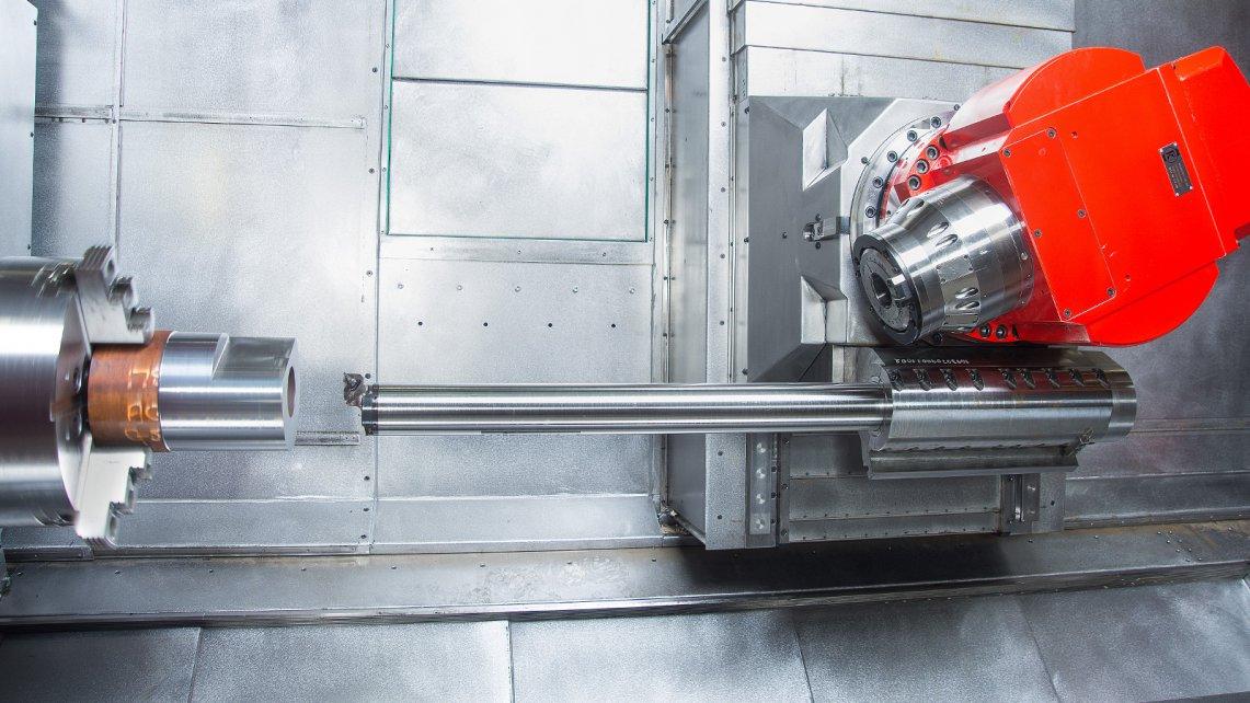 Глубокое сверление на токарном станке – глубокое сверление на токарном станке. полу ручной колебательно-вращательный способ.