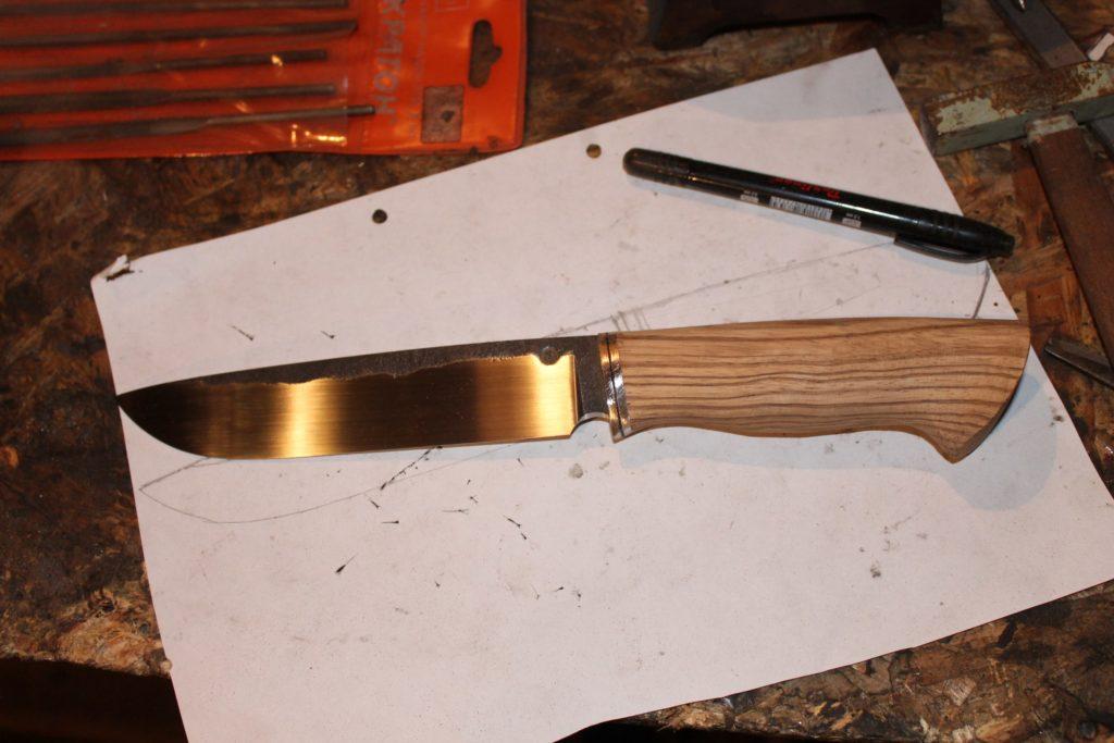 Нож из напильника: особенности и технология изготовления