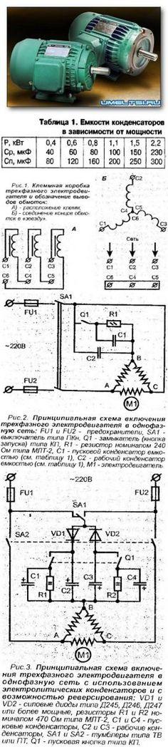 Зачем ставят конденсатор на электродвигатель