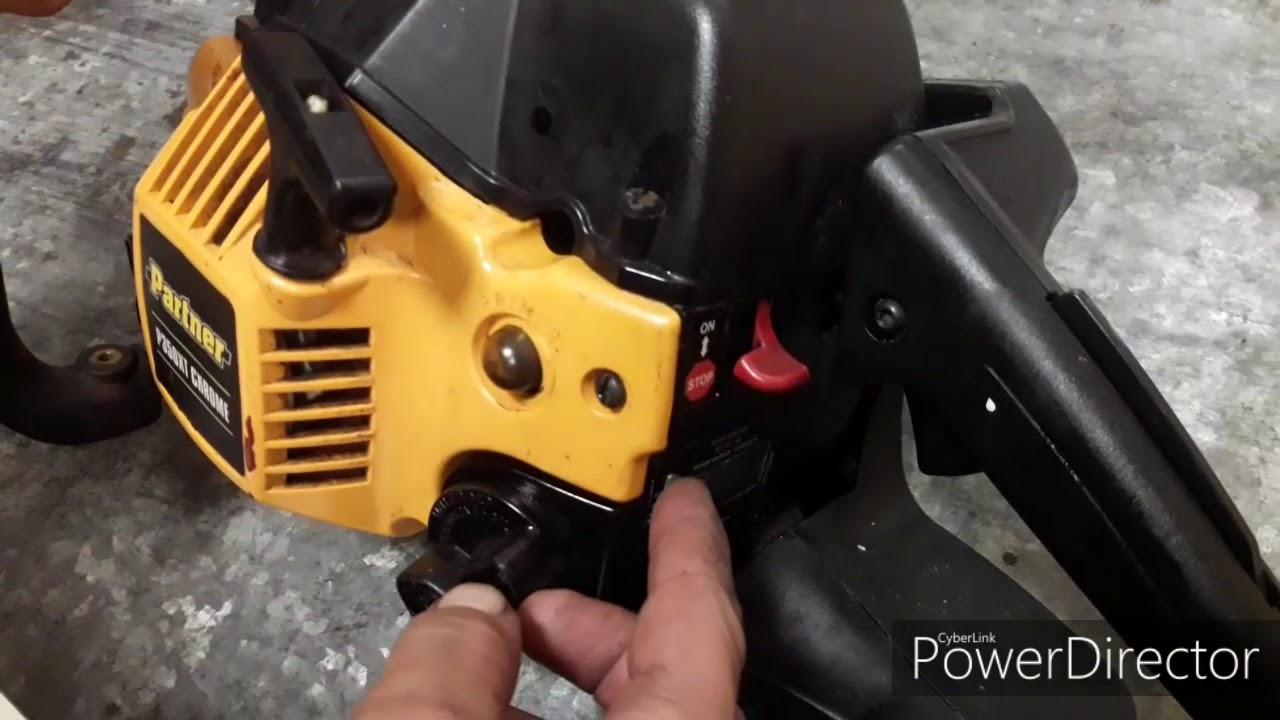 Бензопилы partner (партнер) 350 — ремонт и регулировка, видео