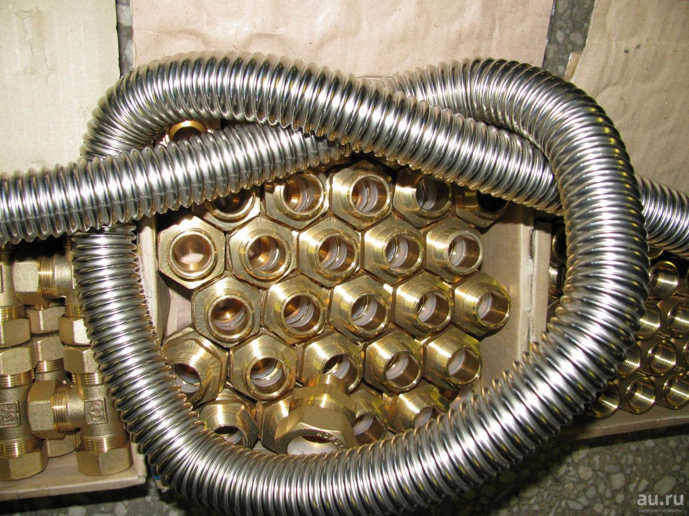 Гофрированная нержавеющая труба: гибкая из нержавеющей стали для отопления, водоснабжения, гофра нержавейка металлическая, стальная гофротруба