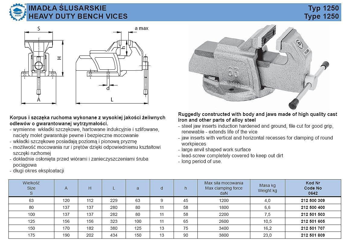 Устройство и особенности конструкции слесарных тисков