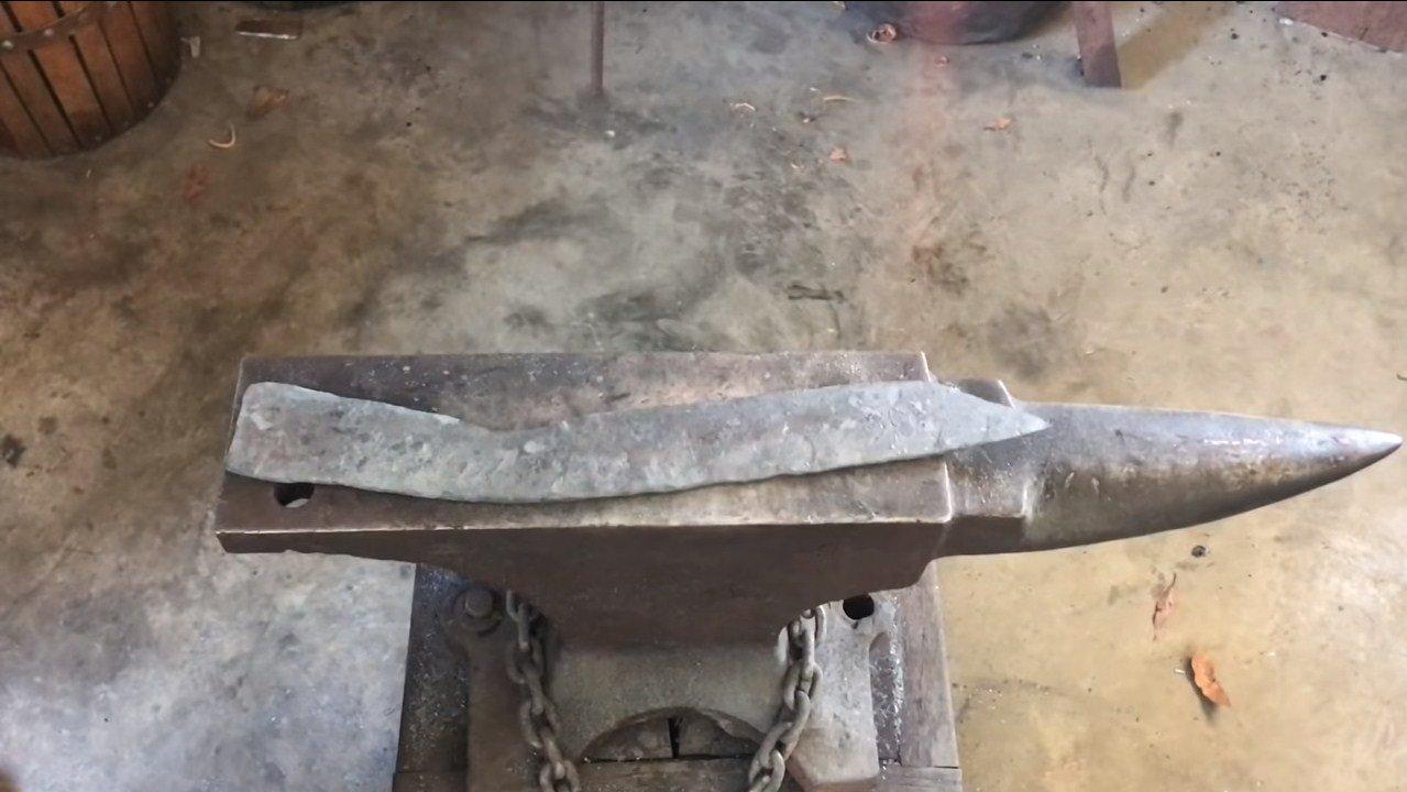 Нож из рессоры своими руками: изготовление, фото и видео