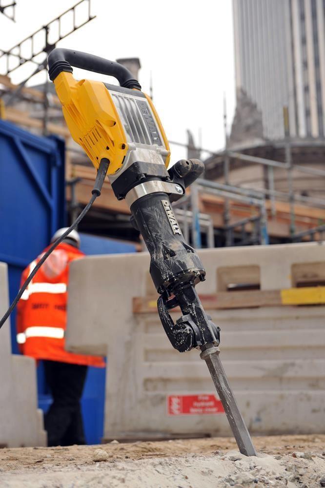 Электрический отбойный молоток как работает по бетону - базирование
