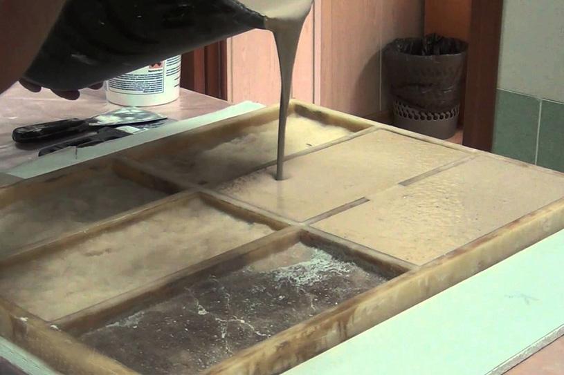 Искусственный мрамор своими руками в домашних условиях   все про металл