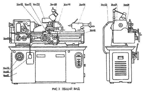 Технические данные токарного станка иж 1и611п