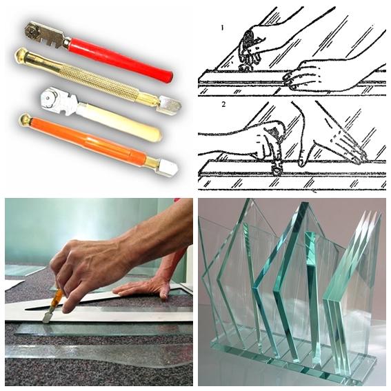 Как резать стекло стеклорезом: основные приемы и нюансы работы