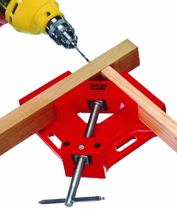 Угловые струбцины для сборки мебели