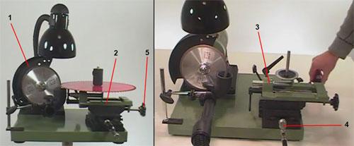 Как своими руками изготовить станок для заточки дисковых пил?