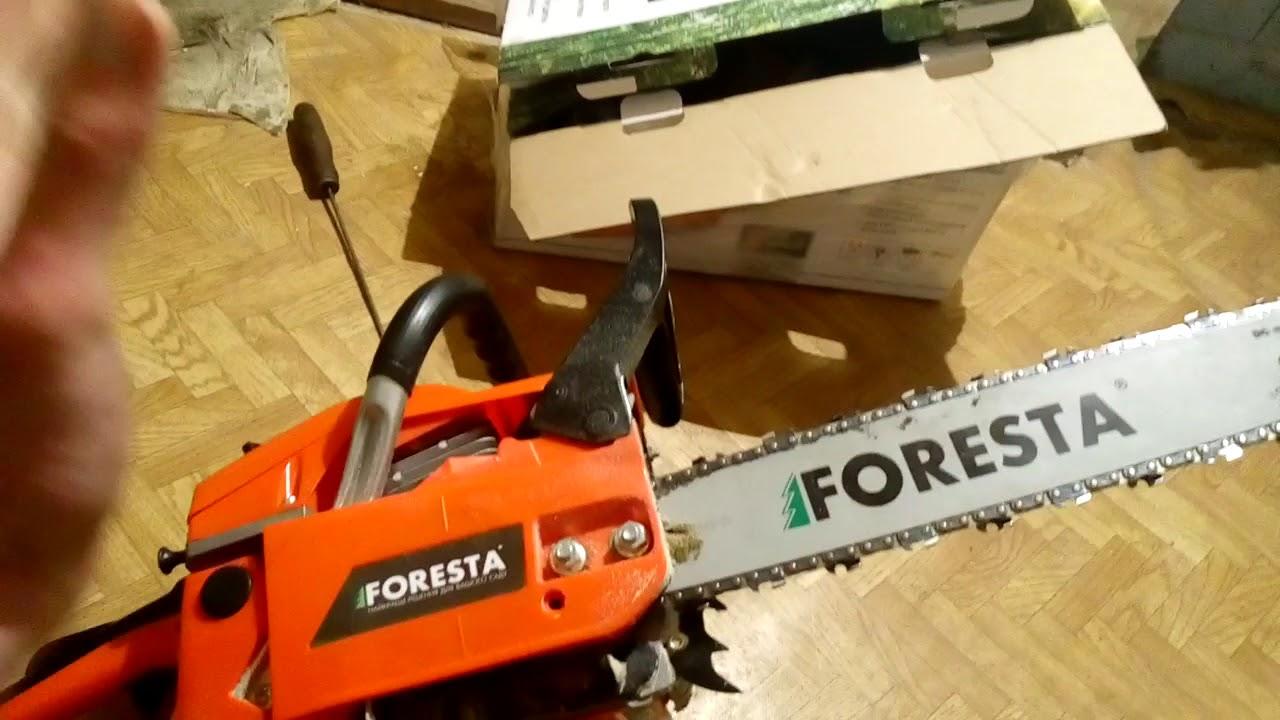 Бензопилы foresta (фореста), модели — технические характеристики