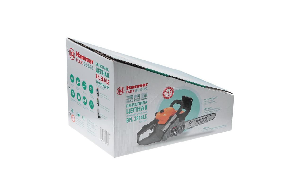 Бензопила hammer bpl4518a (104-013) купить за 7599 руб в новосибирске, отзывы, видео обзоры и характеристики