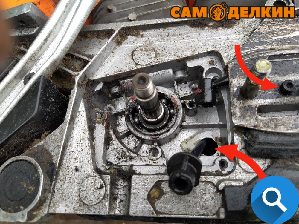 Масляный насос бензопилы — как устроен, принцип действия и ремонт