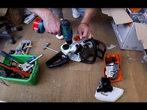 Пошаговый ремонт бензопилы штиль 180 своими руками: видеоинструкция