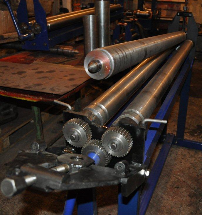 Вальцы для листового металла своими руками – станок для вальцовки труб