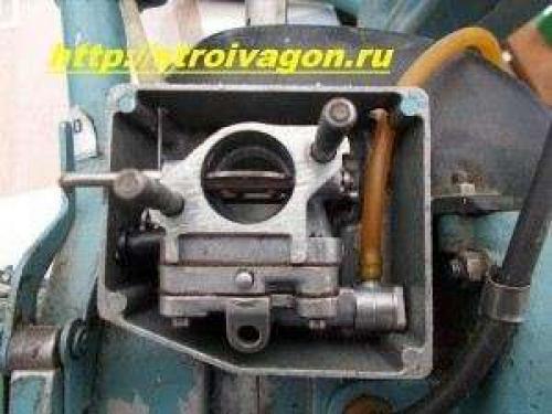 Бензопила урал 2 - регулировка карбюратора и ремонт