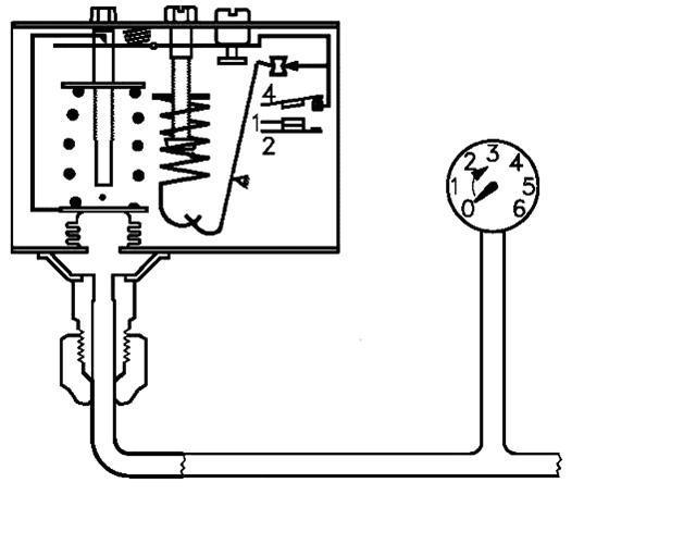 Реле давления для компрессора: настройка и схема подключения