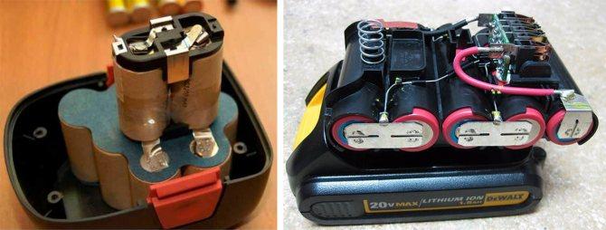 Реанимация аккумулятора шуруповёрта