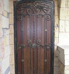 Кованые двери входные: виды и как выбрать | двери дома