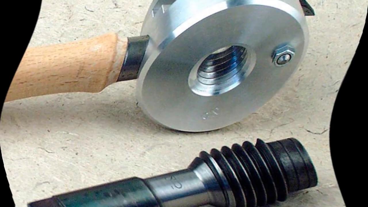 Как нарезать резьбу на трубе отопления? ты удивишь как это просто!