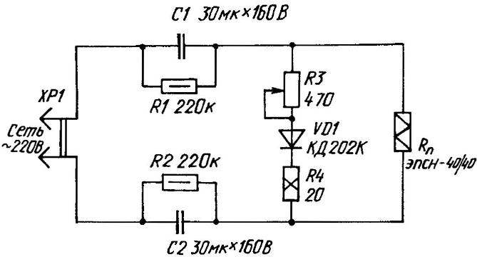Как сделать регулятор мощности для паяльника на 220 в