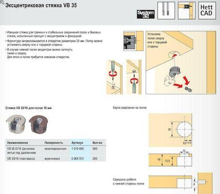 Предназначение мебельной стяжки, ее основные разновидности
