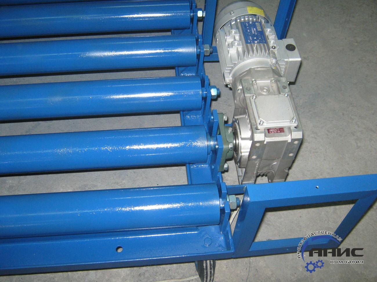 Особенности применения роликовых конвейеров