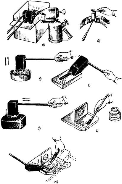 Лужение кузова автомобиля своими руками с применением паяльной пасты или обычного флюса и оловянно-свинцового припоя
